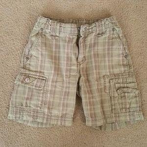 Gymboree plaid toddler shorts